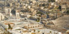 منطقة خريبة السوق في محافظة عمان