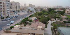 منطقة الصباحية في مدينة الأحمدي