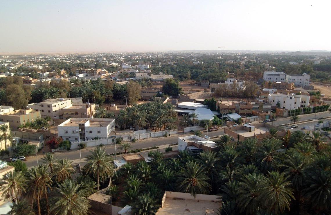 منطقة الجوف في السعودية
