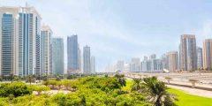 برج فلل العنبر في دبي مارينا