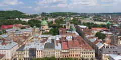 مدينة لفيف الأوكرانية