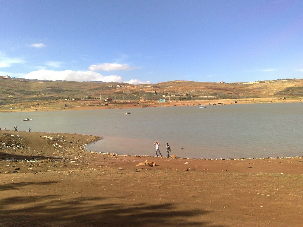بحيرة زرزر في سوريا
