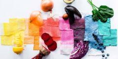 طريقة صبغ الملابس باللون البني