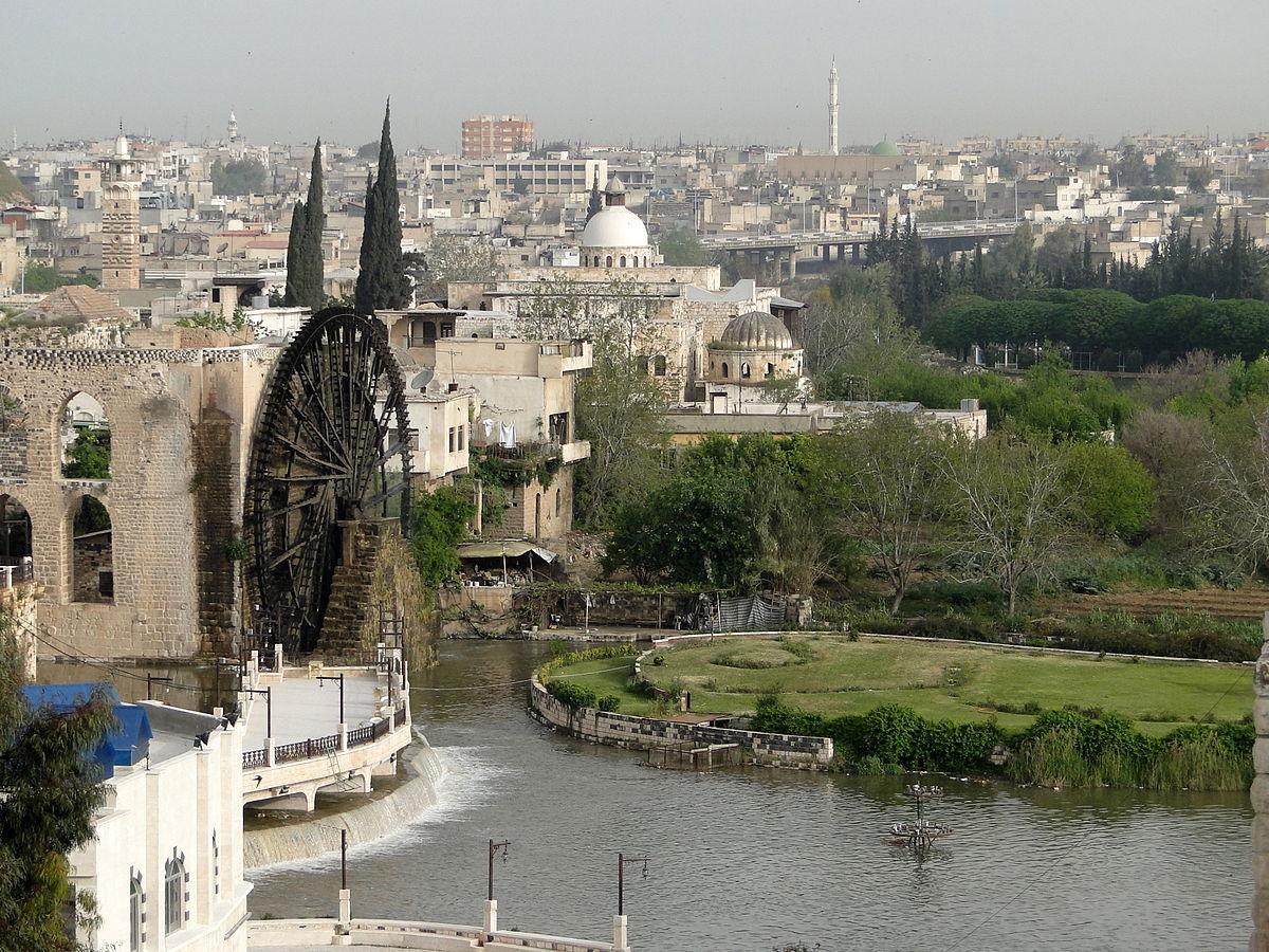 مدينة حماه في سوريا