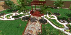 أفكار تساعدك على تنسيق حديقة منزلية مميزة